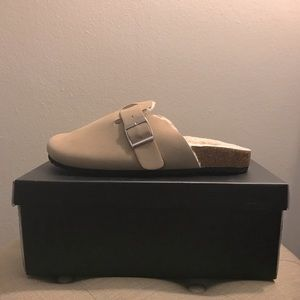 Nicole Miller Taupe Slipper - Size 8